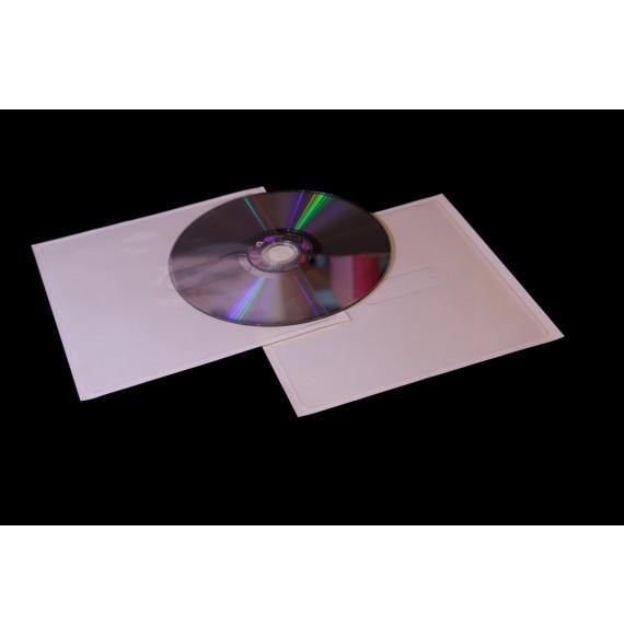 POCHETTE CD/DCVD SANS RABAT 127 X 127