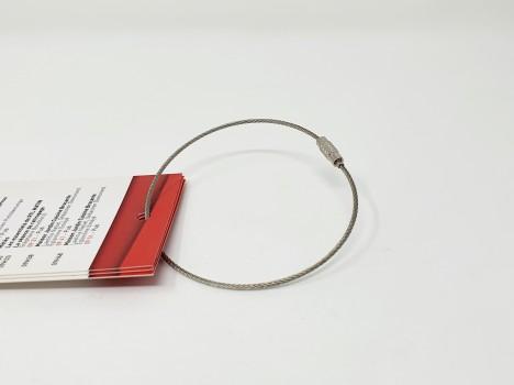 Connecteur câble avec fermoir