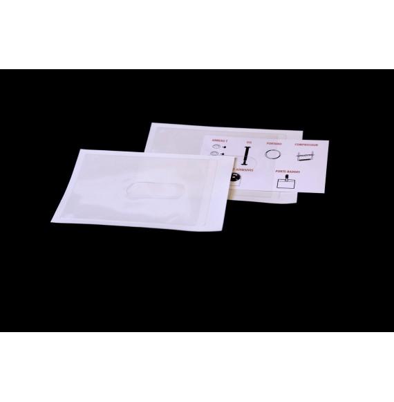 POCHETTE CARTE DE VISITE 68 X 92 TROU OBLONG-6850