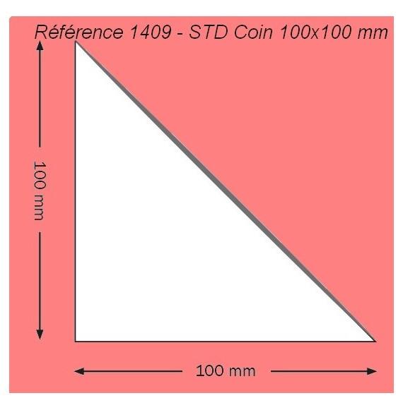 POCHETTE 1409 COIN 100 X 100