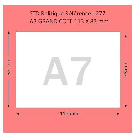 POCHETTE A7 GRAND COTE FORMAT 113 X 83