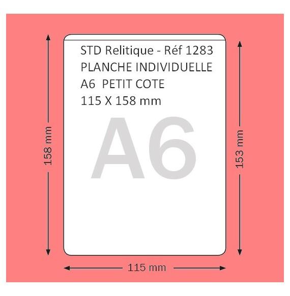POCHETTE A6  PETIT COTE FORMAT 115 X 158