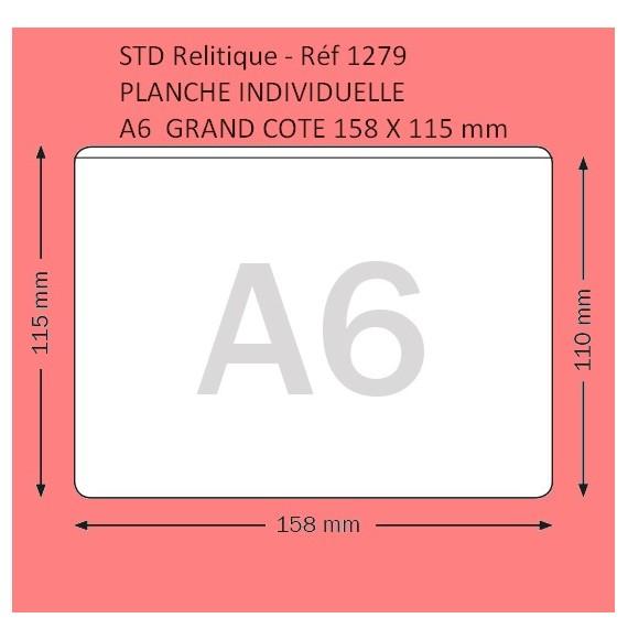 POCHETTE A6  GRAND COTE FORMAT 158 X 115