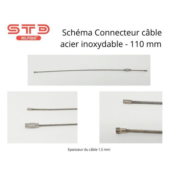 CONNECTEUR CABLE 110 MM
