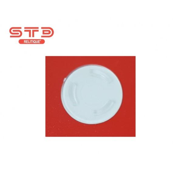 PLOT CRISTAL CD/DVD INJECTE ADHESIF 20 MM