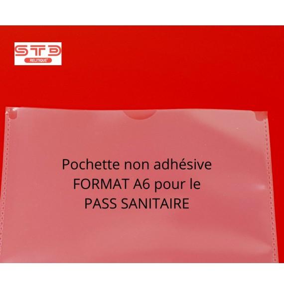 POCHETTE A6 - 114 x 160 MM - OUVERTURE PETIT COTE