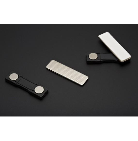 Barrette Magnétique Adhésive pour Badge